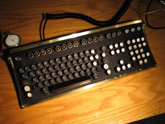 Oldschool keyboard